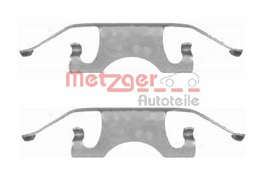 OE Original Zubehörsatz, Scheibenbremsbelag 109-1640 METZGER