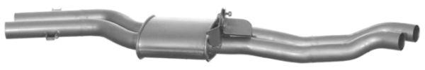VEGAZ Mittelschalldämpfer BS-298