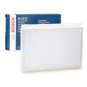 Filtr, vzduch v interiéru 1 987 432 213 pro MERCEDES-BENZ SPRINTER ve slevě – kupujte ihned!