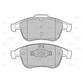 601050 Bremsbeläge VALEO 601050 - Große Auswahl - stark reduziert