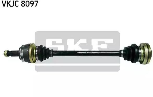 BMW 1er 2015 Gelenkwelle - Original SKF VKJC 8097 Länge: 668mm, Außenverz.Radseite: 27, Zähnez. ABS-Ring: 48
