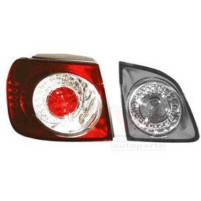 5887921 VAN WEZEL Vänster, ytterdel, LED, med lamphållare Kombinationsbackljus 5887921 köp lågt pris