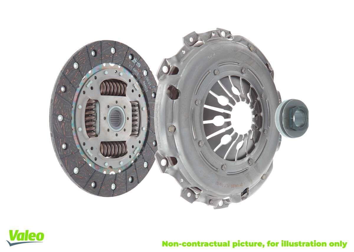 Achat de 828382 VALEO SERVICE KIT3P pour CONVERSION KIT, avec mécanisme d'embrayage, avec butée de débrayage, avec disque d'embrayage, sans volant moteur Kit d'embrayage 828382 pas chères