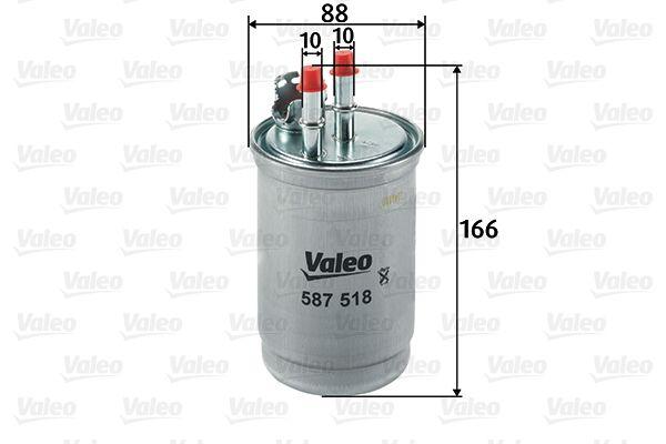 VALEO Kütusefilter 587518