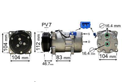 Original LAND ROVER Klimakompressor 5800K288