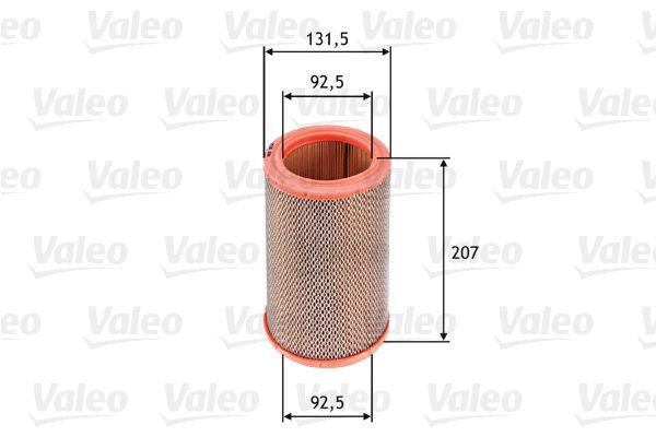 Въздушен филтър 585629 с добро VALEO съотношение цена-качество