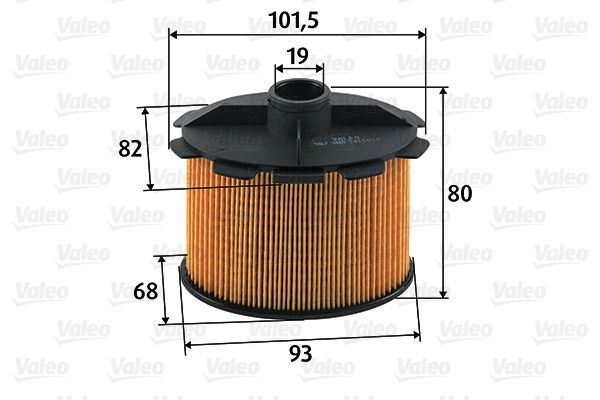 Original Palivový filtr 587905 Toyota