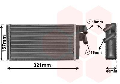 Wärmetauscher, Innenraumheizung VAN WEZEL 03006052 Bewertungen