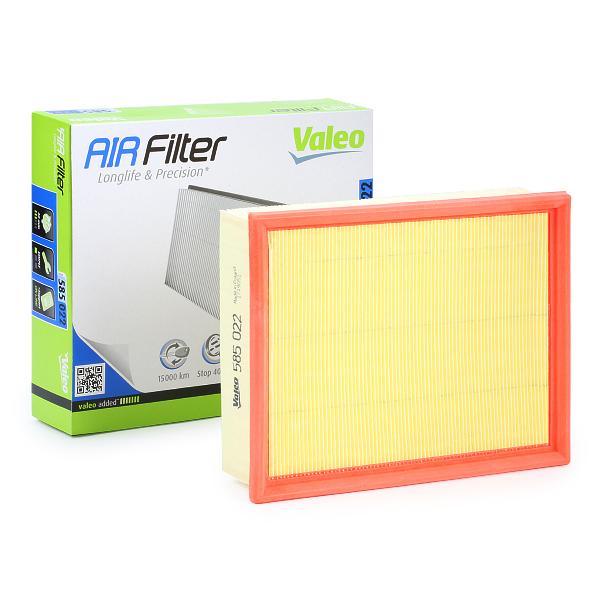 Zracni filter 585022 z izjemnim razmerjem med VALEO ceno in zmogljivostjo