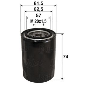 586017 Ölfilter VALEO in Original Qualität