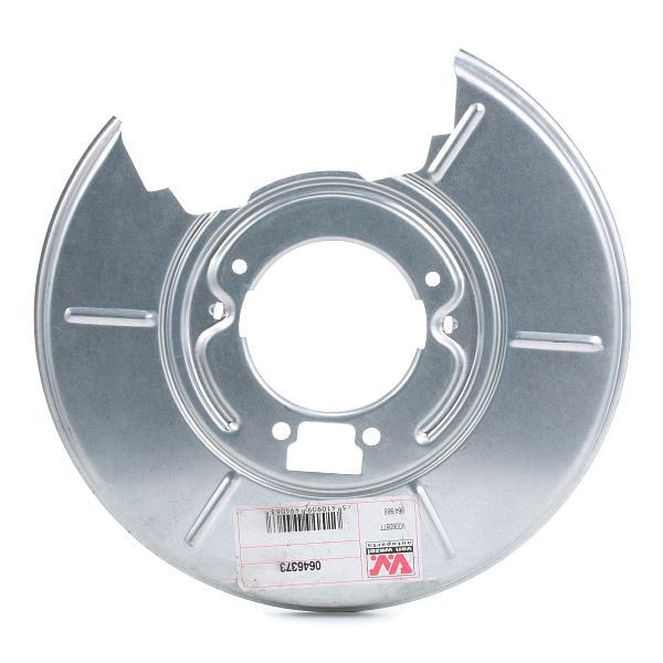 Origine Protection de disque de frein VAN WEZEL 0646373 ()