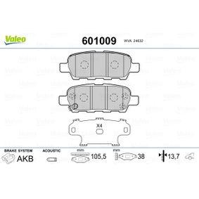 HELLA PAGID 8DB 355 010-241 Bremsbelagsatz Scheibenbremse Hinterachse