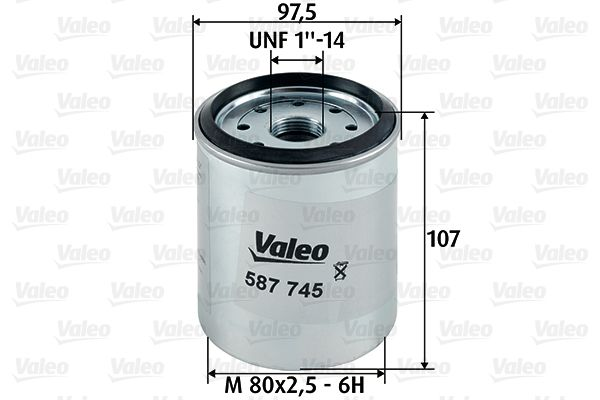CHRYSLER Filtre à carburant d'Origine 587745