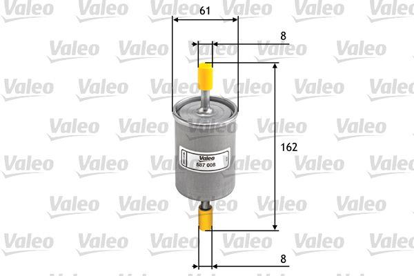 VALEO Kraftstofffilter 587008