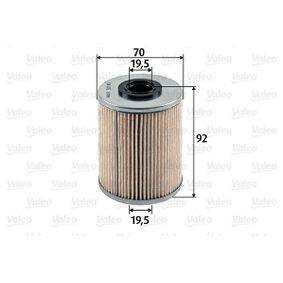 Køb og udskift Brændstof-filter VALEO 587907