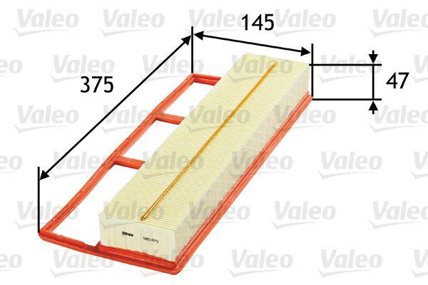 585075 Air Filter VALEO Test