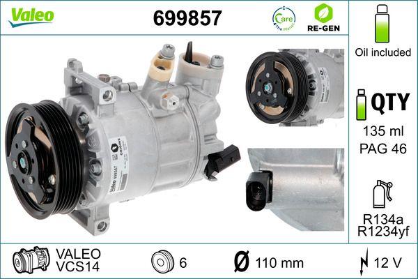 VALEO | Klimakompressor 699857