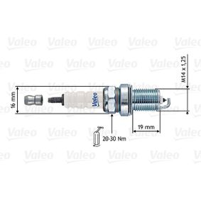 RF10HP VALEO Electrode Gap: 0,7mm Spark Plug 246892 cheap