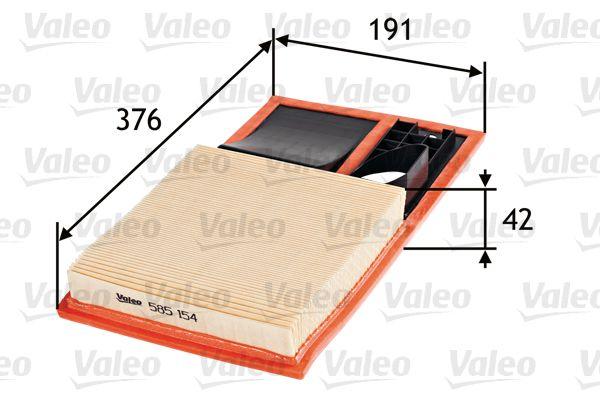 VALEO Luftfilter 585154