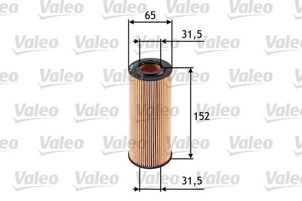 586545 Motorölfilter VALEO in Original Qualität