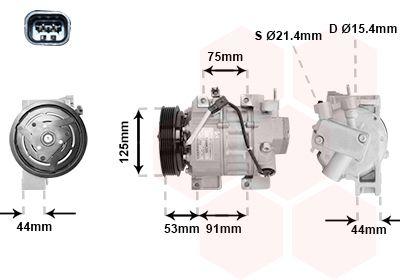 Original LAND ROVER Kompressor 1300K335