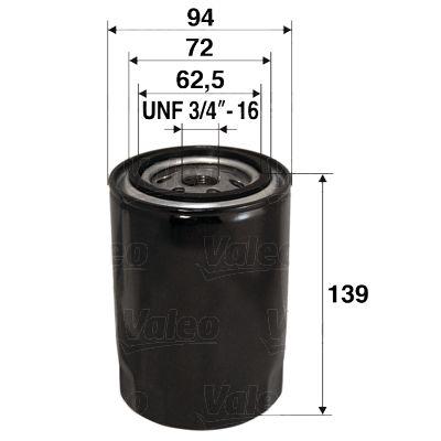 Ölfilter VALEO 586015