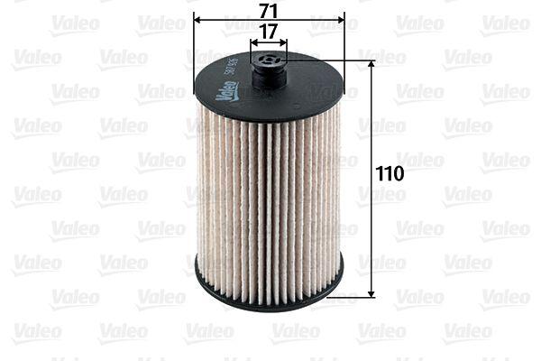 Degvielas filtrs VALEO 587926 Pārskatiem