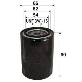 586049 VALEO Anschraubfilter Innendurchmesser 2: 62mm, Innendurchmesser 2: 54mm, Ø: 66mm, Höhe: 90mm Ölfilter 586049 günstig kaufen