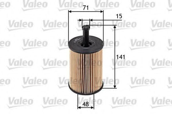 586506 Filtre à huile VALEO - Produits de marque bon marché