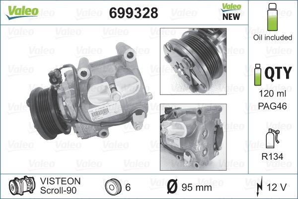 VALEO Klimakompressor 699328