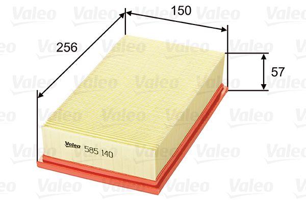 VALEO Luftfilter 585140