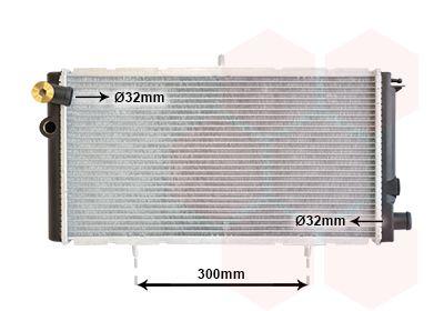 09002007 VAN WEZEL Kühlrippen gelötet, Aluminium Kühler, Motorkühlung 09002007 günstig kaufen