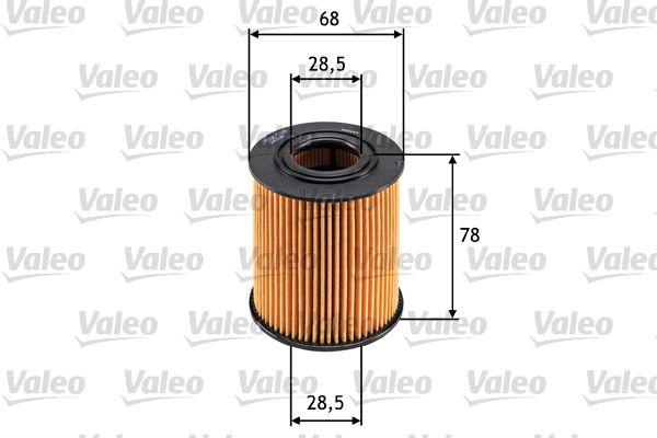 586528 Filtre à huile VALEO originales de qualité