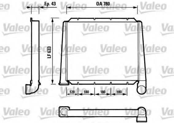 Ladeluftkühler VALEO 816607 mit 22% Rabatt kaufen