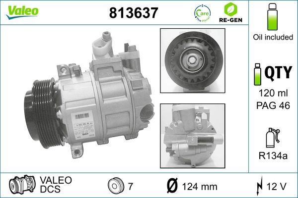 Original MERCEDES-BENZ Kompressor 813637