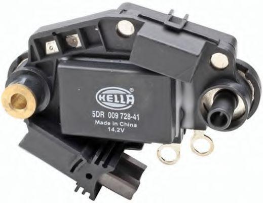 5DR 009 728-411 HELLA Nennspannung: 12V, Betriebsspannung: 14,2V Generatorregler 5DR 009 728-411 günstig kaufen