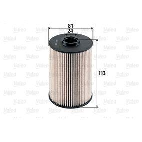 Pirkti 587928 VALEO filtro įdėklas aukštis: 113mm Kuro filtras 587928 nebrangu