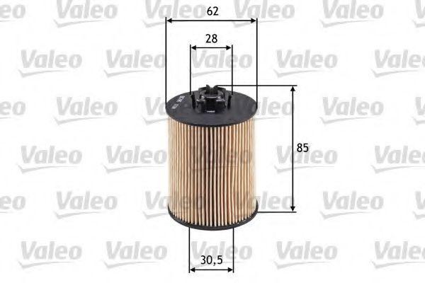 586519 Motorölfilter VALEO in Original Qualität