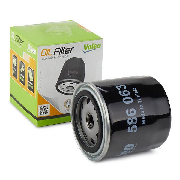 586063 VALEO Screw-on Filter Inner Diameter 2: 72mm, Inner Diameter 2: 62,2mm, Ø: 94mm, Height: 97mm Oil Filter 586063 cheap