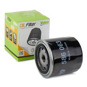 586063 VALEO Anschraubfilter Innendurchmesser 2: 72mm, Innendurchmesser 2: 62,2mm, Ø: 93mm, Höhe: 96mm Ölfilter 586063 günstig kaufen