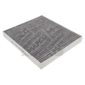 67709 MAPCO Aktivkohlefilter Breite: 236mm, Höhe: 30mm, Länge: 262mm Filter, Innenraumluft 67709 günstig kaufen
