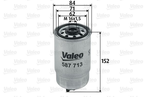 CHRYSLER Filtre à carburant d'Origine 587713