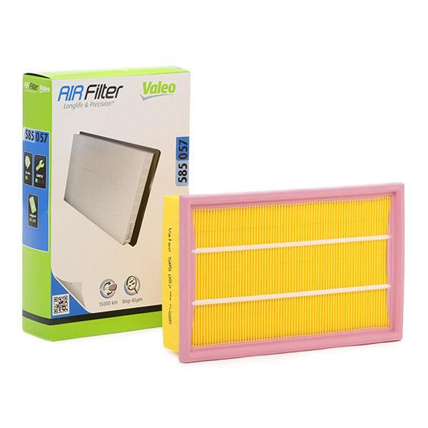 Zracni filter 585057 z izjemnim razmerjem med VALEO ceno in zmogljivostjo