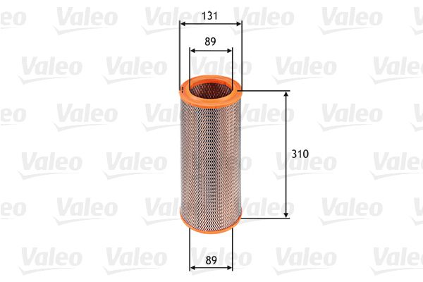 Buy original Air filter VALEO 585601