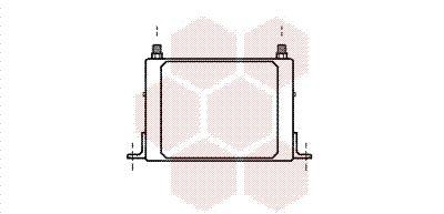 Getriebeölkühler VAN WEZEL 17003117