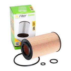 586501 VALEO Filtereinsatz Innendurchmesser 2: 31,5mm, Ø: 65mm, Höhe: 115mm Ölfilter 586501 günstig kaufen