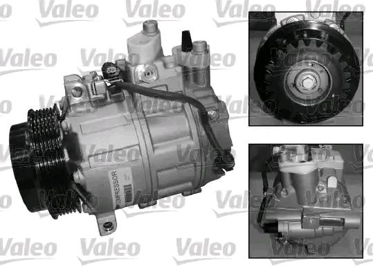 VALEO Klimakompressor 813657