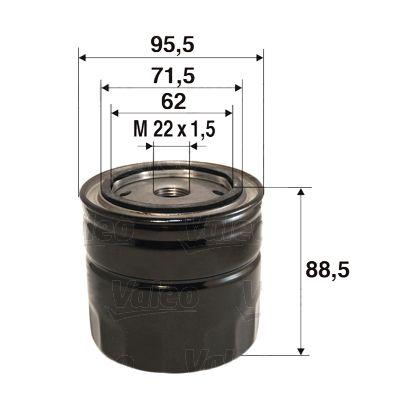 Motorölfilter VALEO 586097