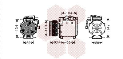 Original MITSUBISHI Kompressor 3200K212