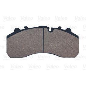VALEO Kit pastiglie freno, Freno a disco 882200: compri online